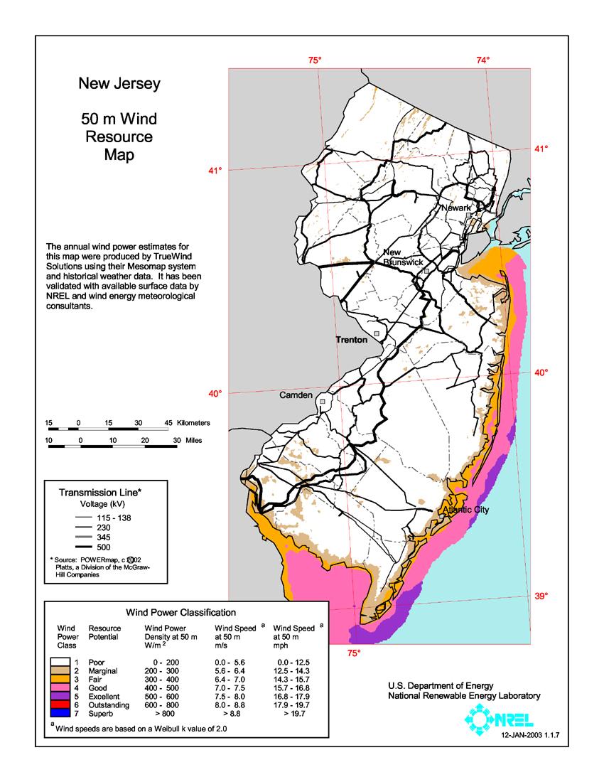 FileNew Jersey Wind Resource Map M Jpg Wikimedia Commons - Us wind energy map