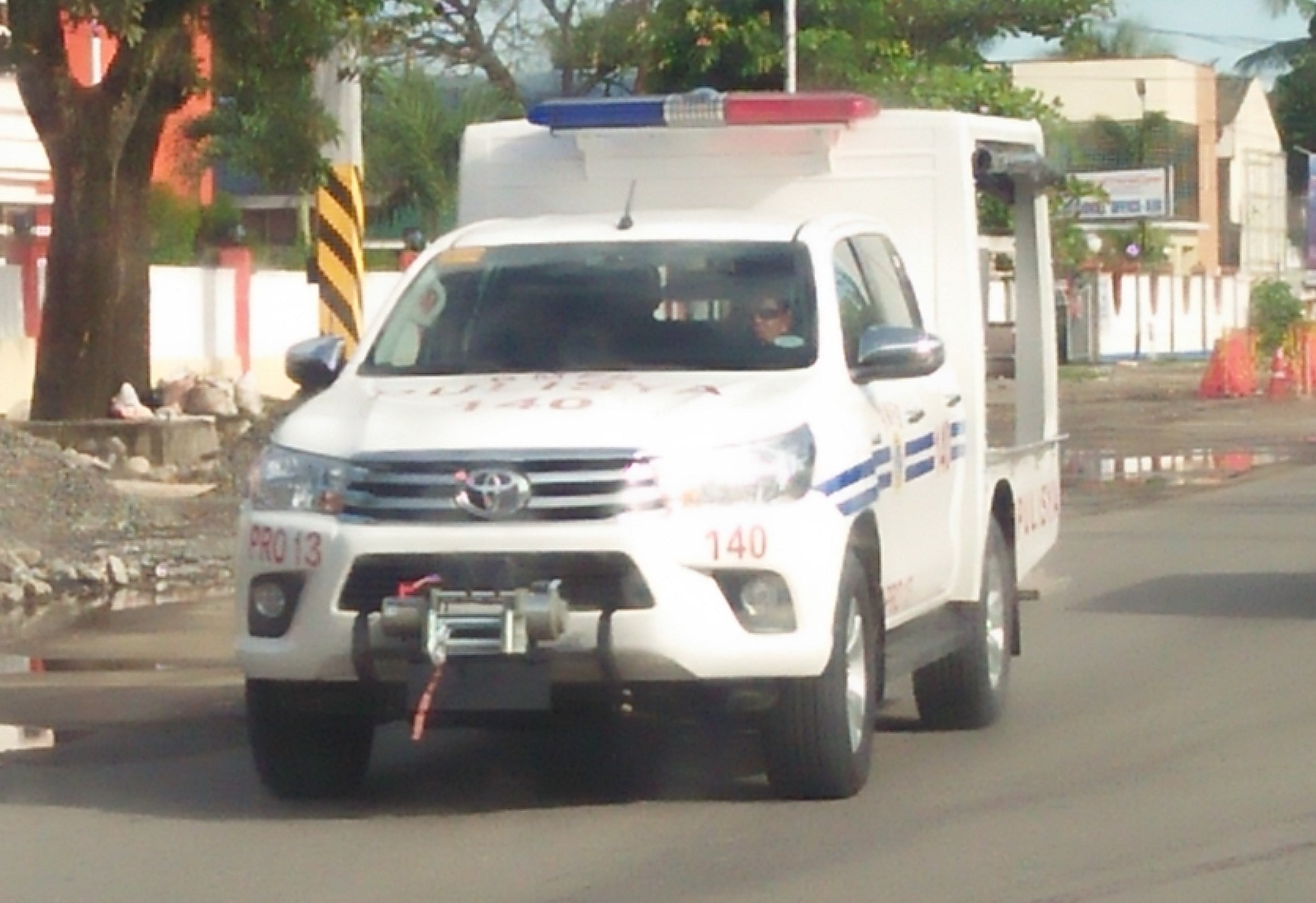 File New Toyota Hilux 4x4 Modified Police Car Of 13th Regional