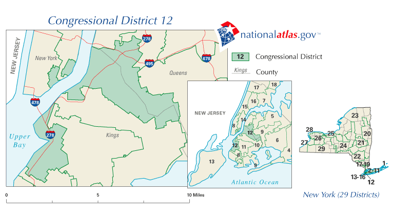 New York 12th Congressional District