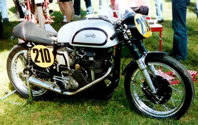 Norton Manx 500 cc Racer 1958