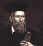 Cut image of Nostradamus