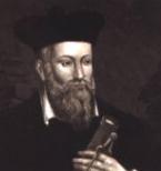 Cut image of Nostradamus