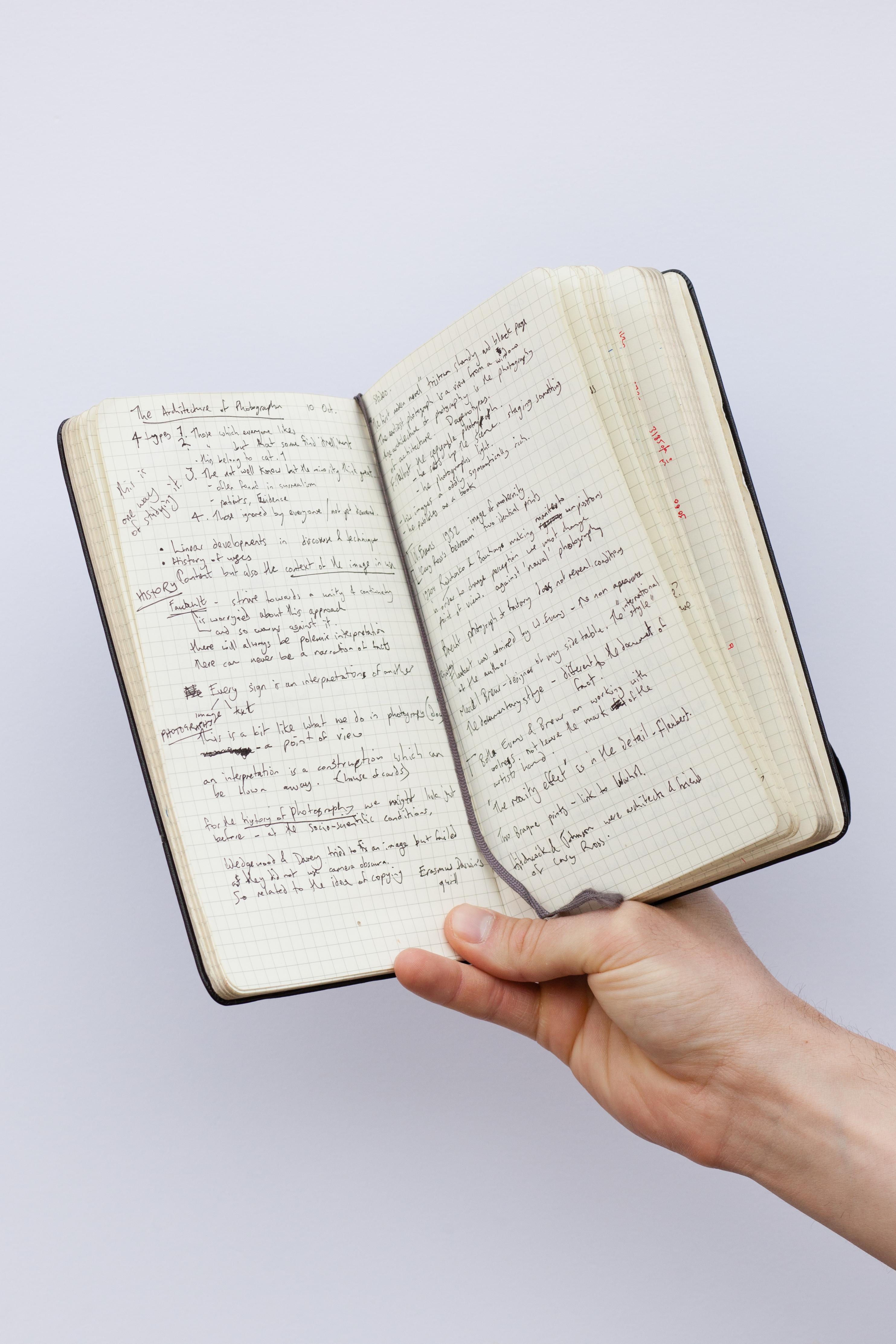 File:Notebook with english handwriting.jpg - Wikimedia Commons
