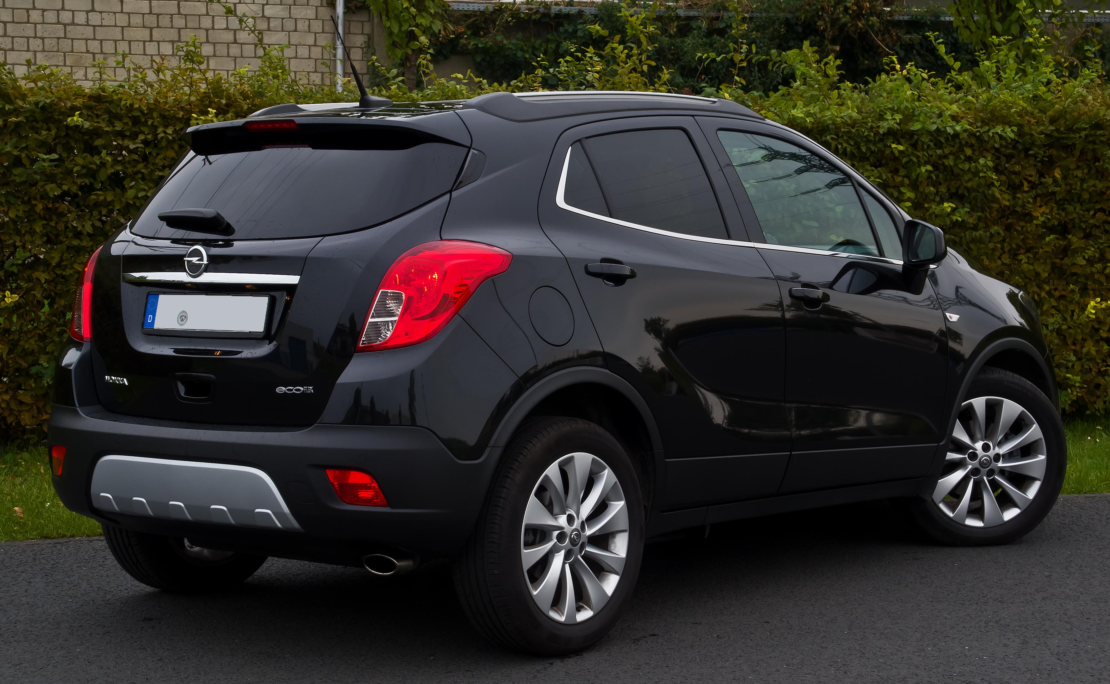 File:Opel Mokka 1.4 Turbo ecoFLEX Innovation – Heckansicht ...