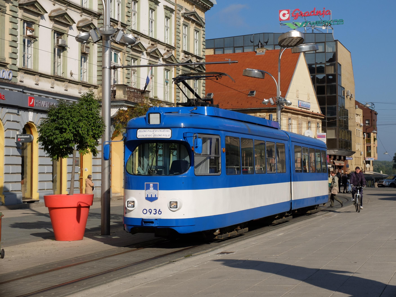 Osijek tram Osijek, National parks, Croatia