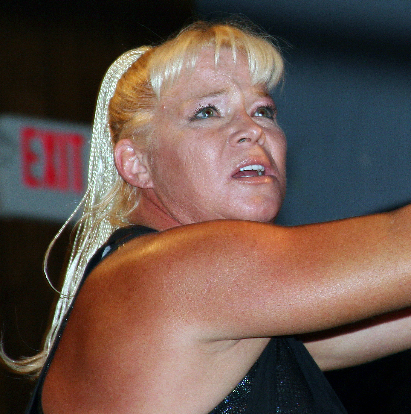 Luna Vachon at The Top Rope