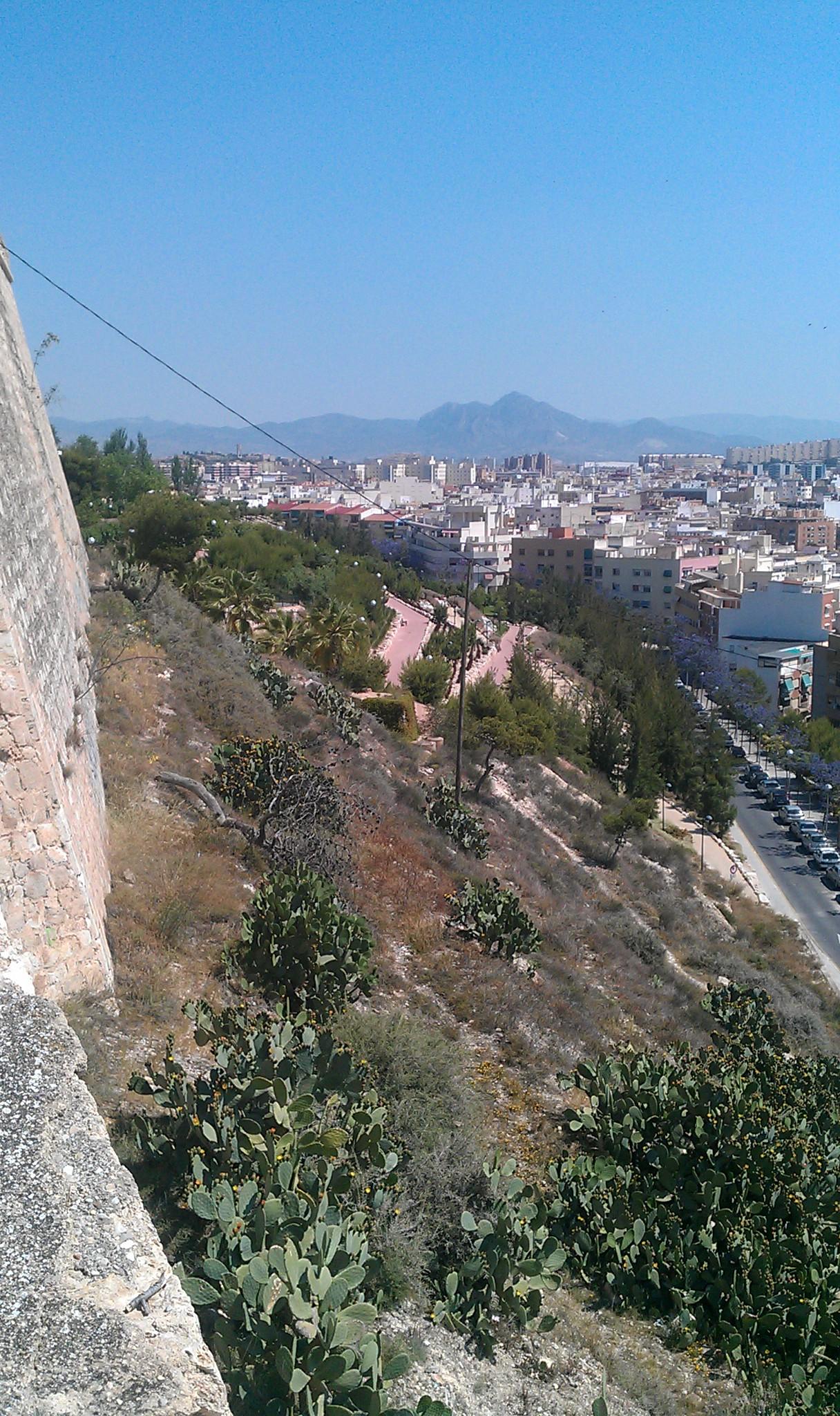 File Parque Castillo De San Fernando Alicante Panoramio 2 Jpg