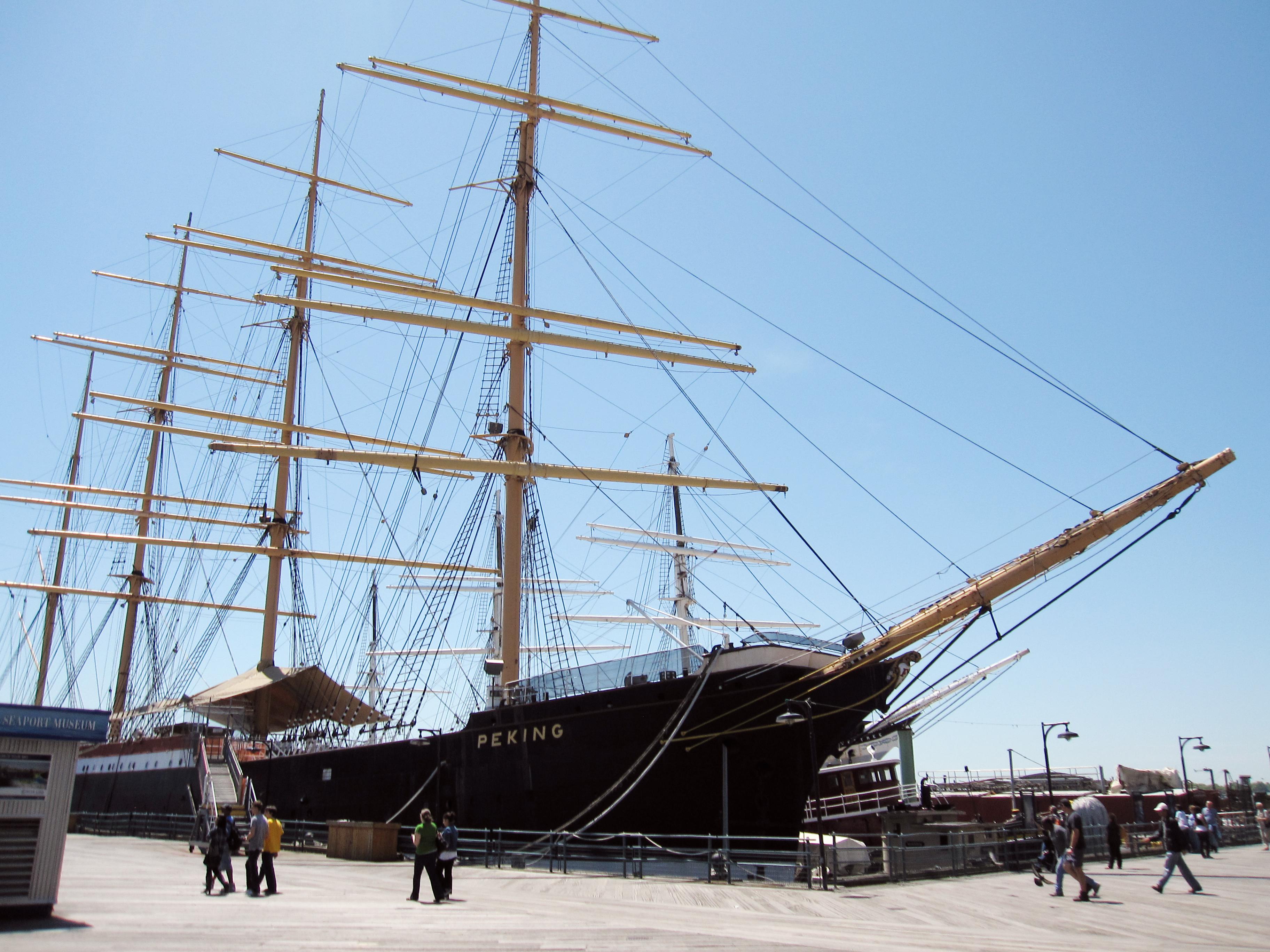 Segelschiff Peking Aktuell