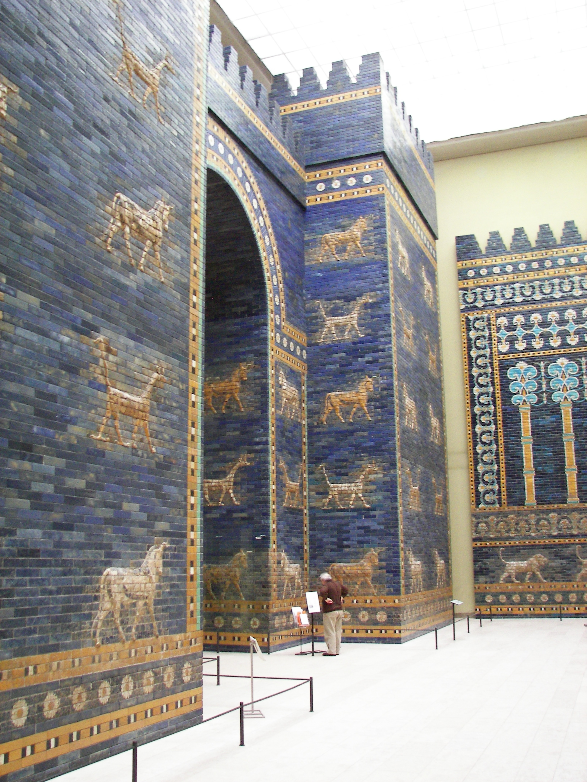 View of the Ishtar gate.