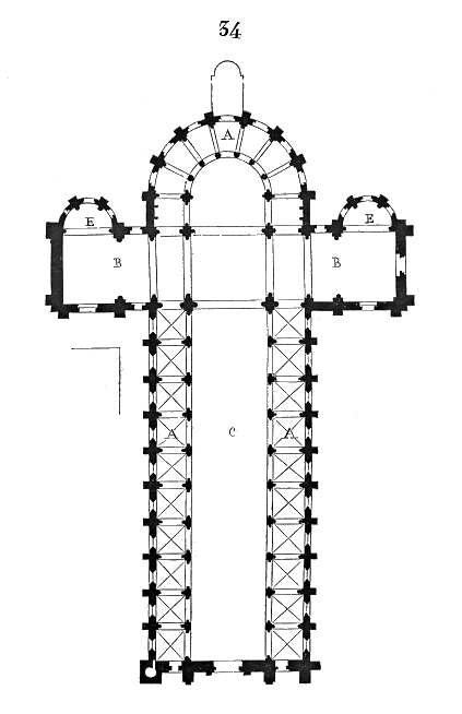 Plan.ancienne.cathedrale.Mans.png