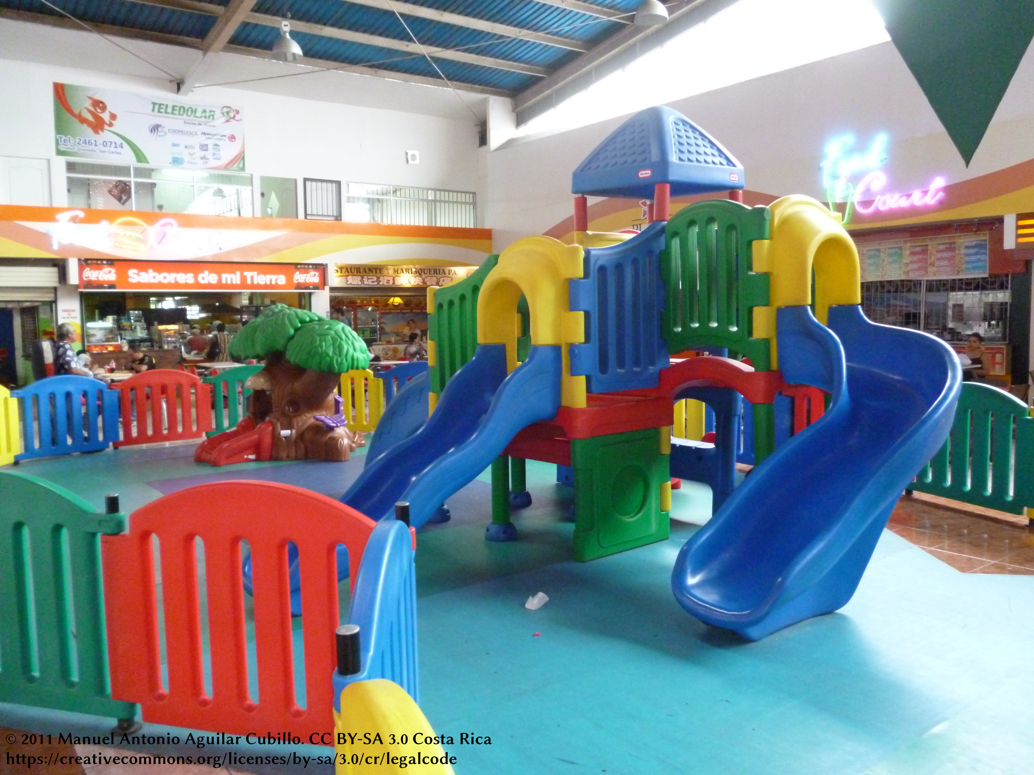 File Playground Inside Plaza San Carlos Shopping Mall Jpg
