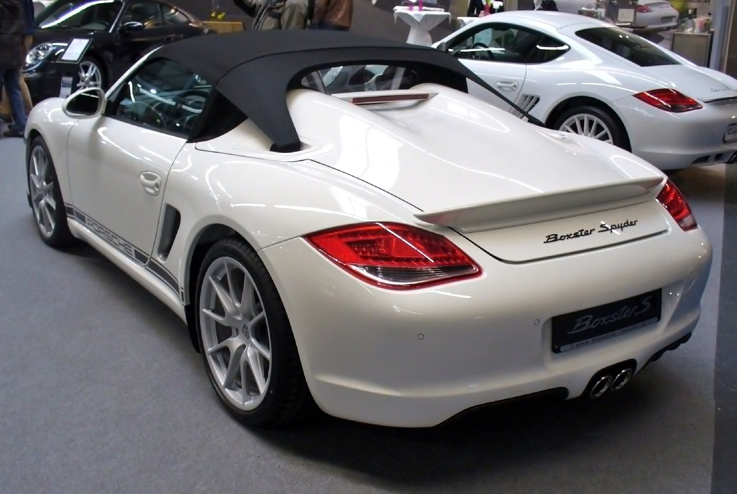 File Porsche Boxster S Spyder Heck Ame Jpg Wikimedia Commons