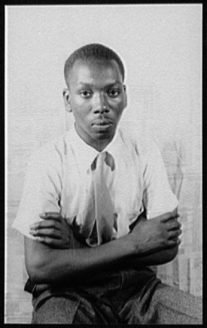 Jacob Lawrence in 1941.