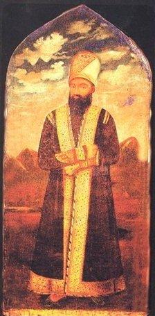 Portret of Huseyngulu Khan Qajar by Irevani.jpg
