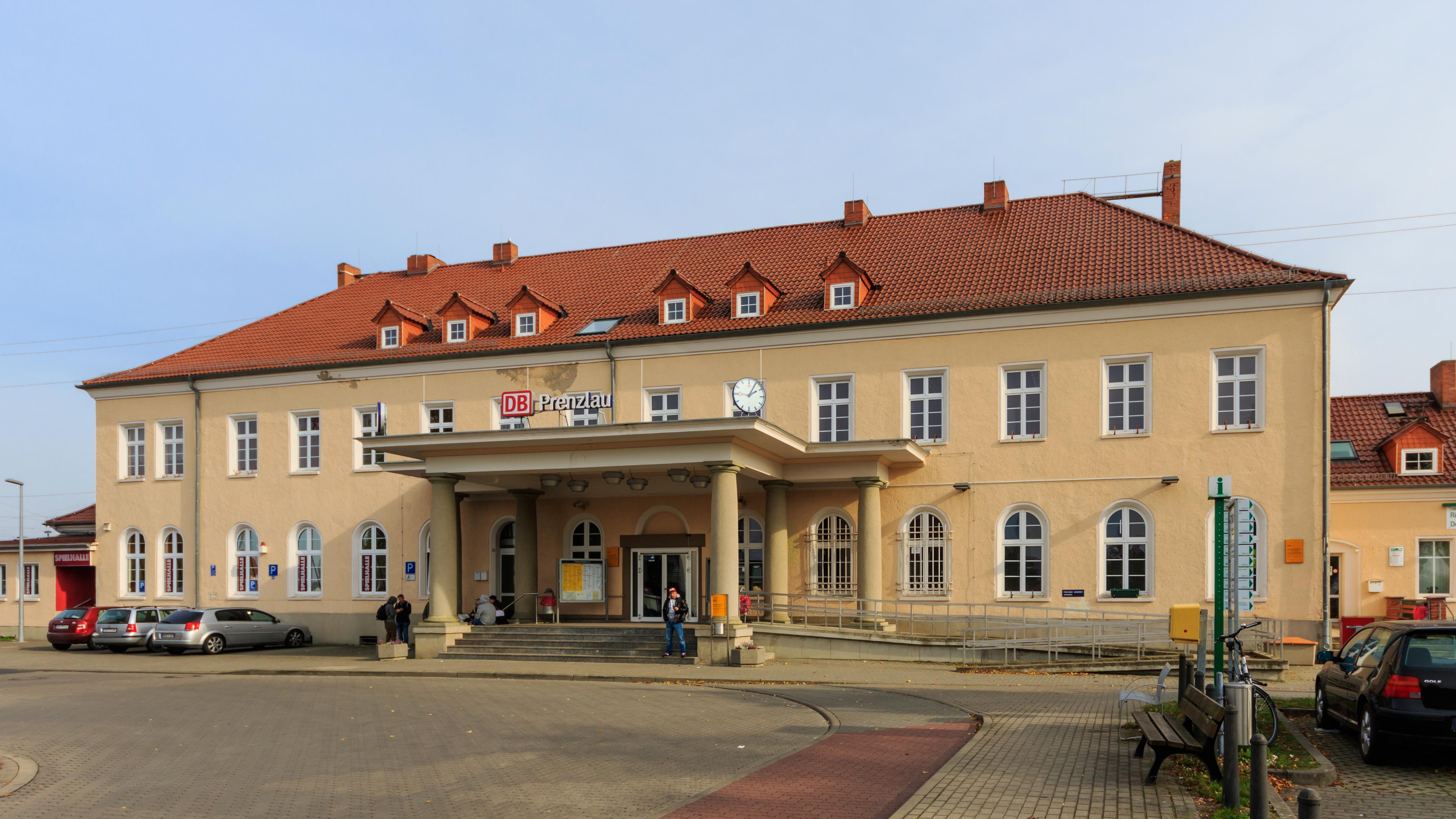 Bahnhof Prenzlau Wikipedia