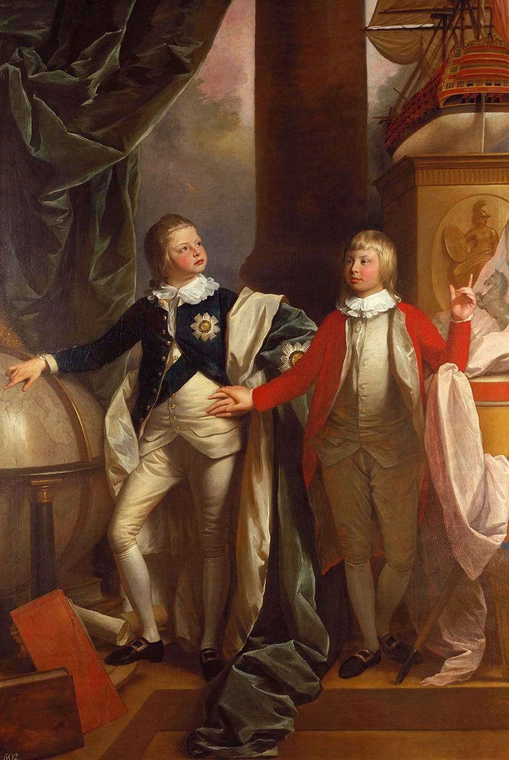 File:Prince William and Prince Edward 1778.jpg