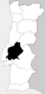 mapa do ribatejo Ribatejo Province   Wikipedia mapa do ribatejo