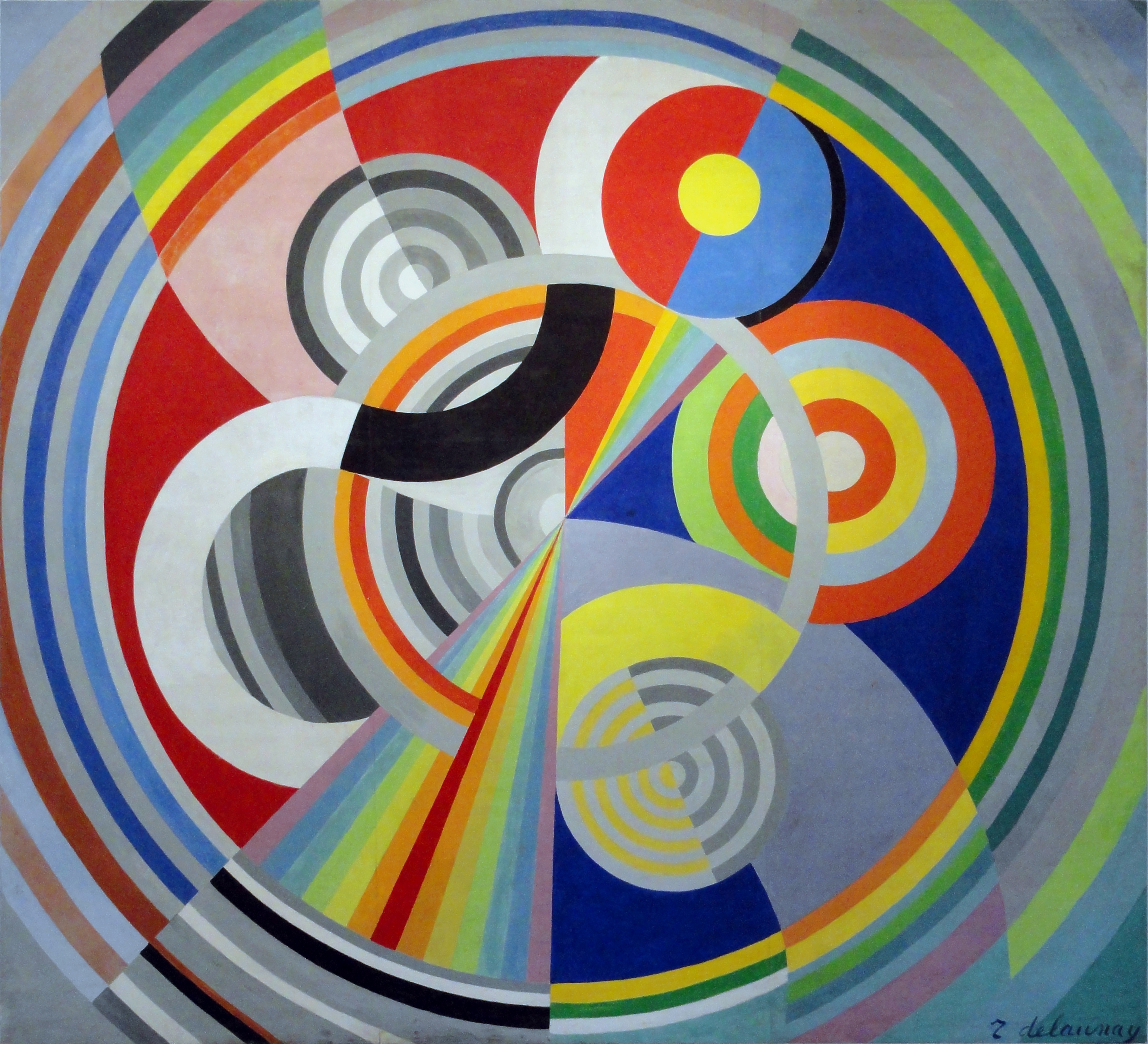Robert delaunay alchetron the free social encyclopedia for Decoration des salons