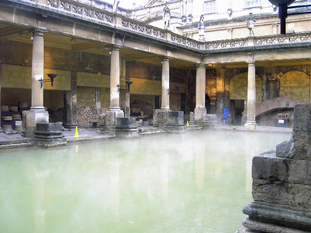 Roman Baths, Bath - geograph.org.uk - 50456
