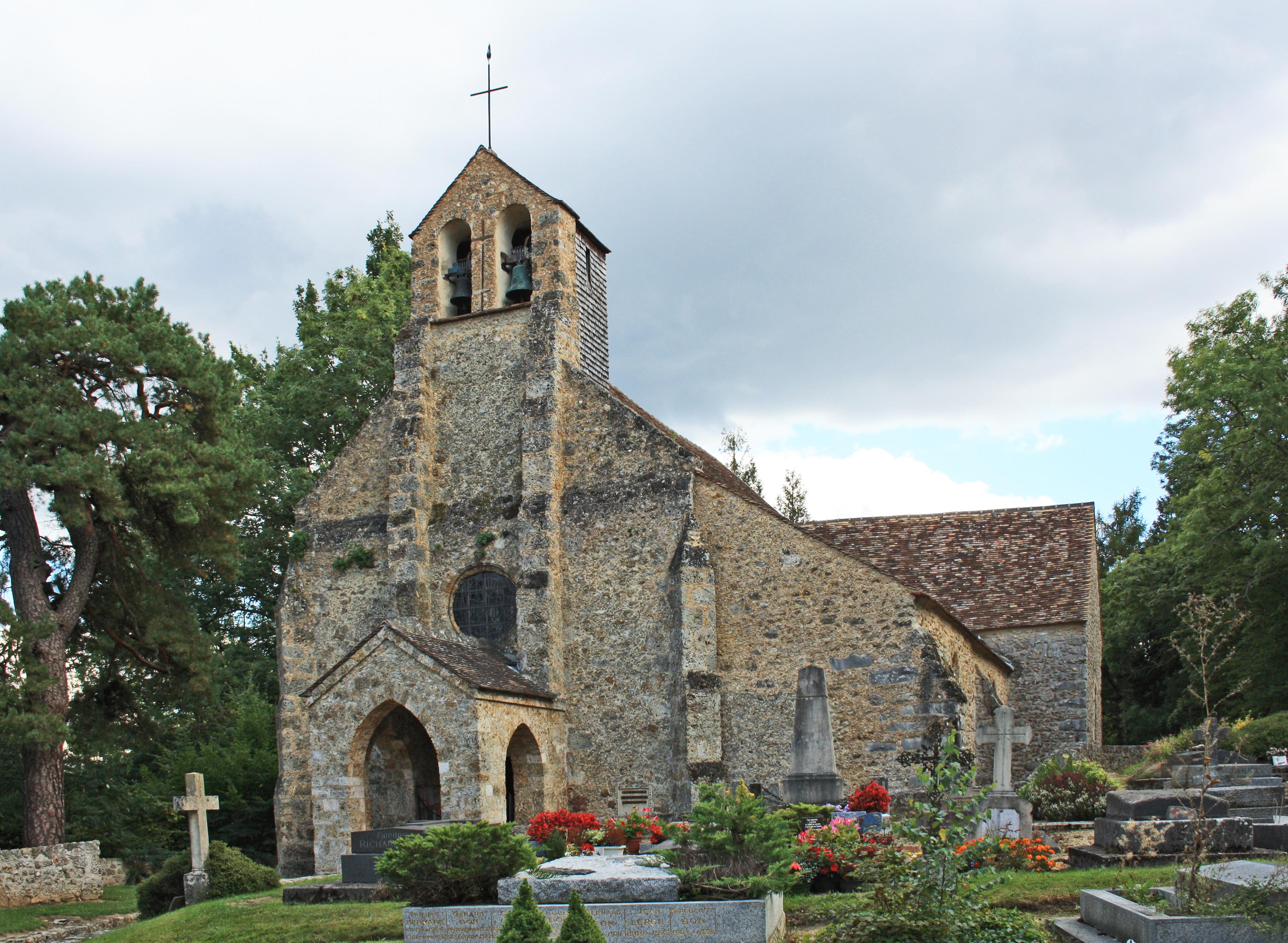 FileSaintLambertdesBois Church 1jpg  Wikimedia Commons ~ Saint Lambert Des Bois