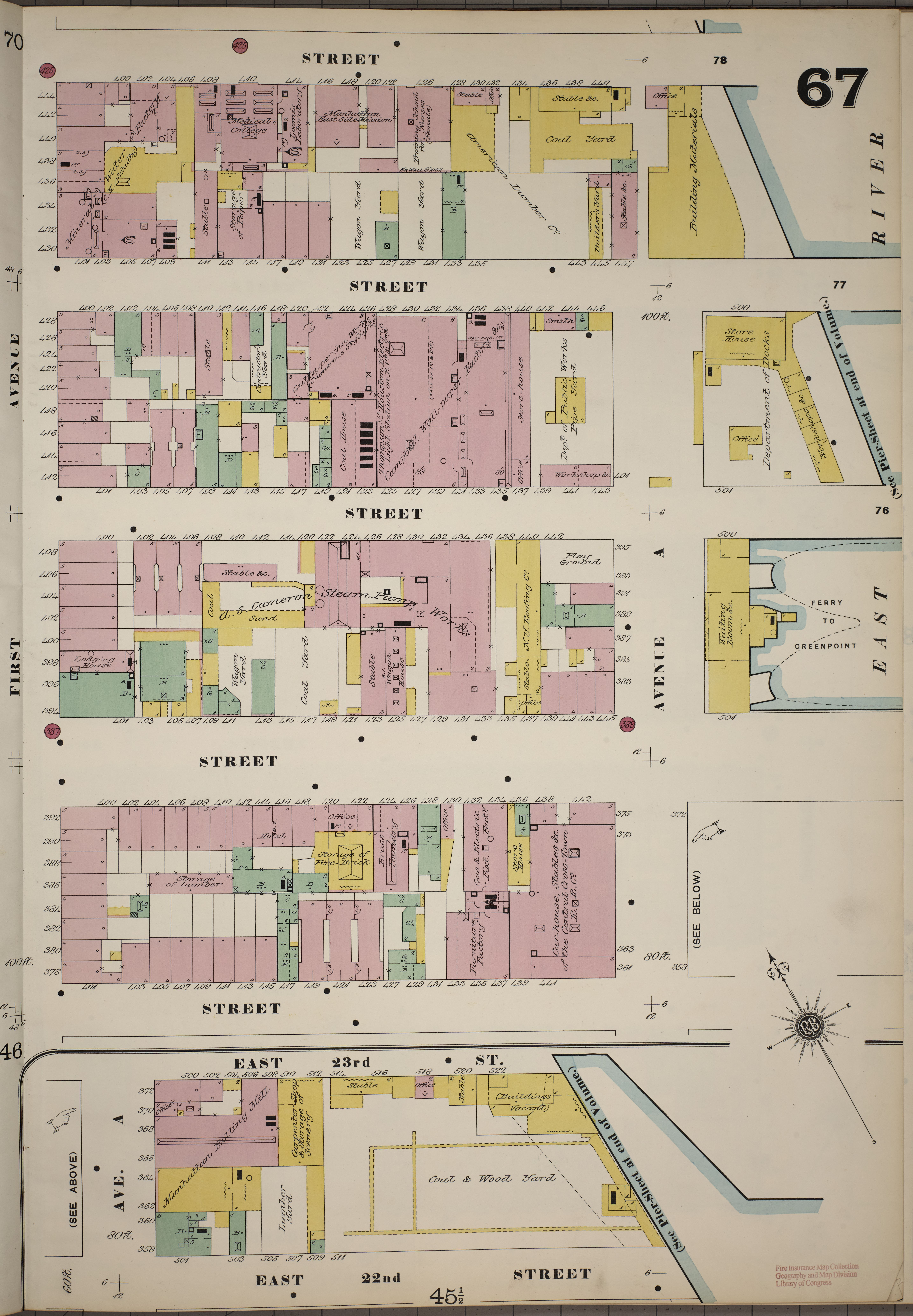 Map Of New York Bronx.File Sanborn Fire Insurance Map From New York Bronx Kings Queens