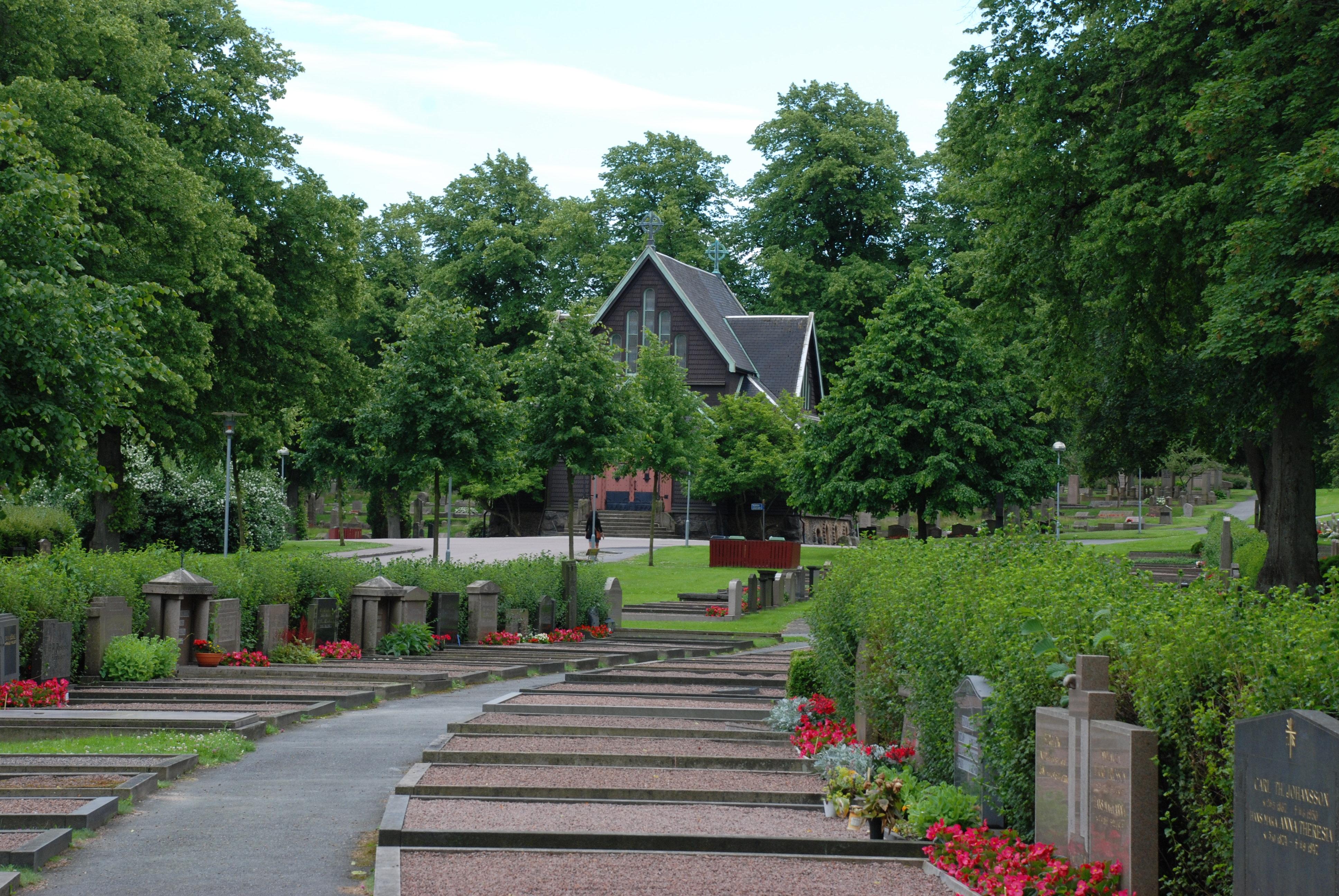 västra kyrkogården göteborg