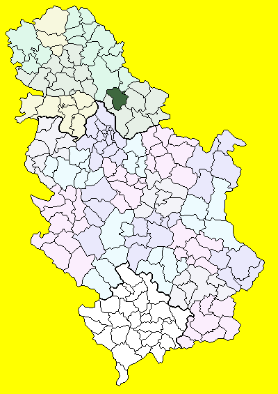kovačica mapa Antalfalva község – Wikipédia kovačica mapa