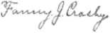Signature of Fanny Crosby (1820–1915).png