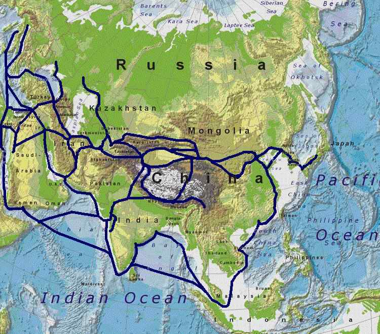 Resourcesforhistoryteachers ap world history silk routes gumiabroncs Image collections