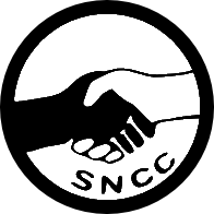 A replication of a pin made by the SNCC for th...