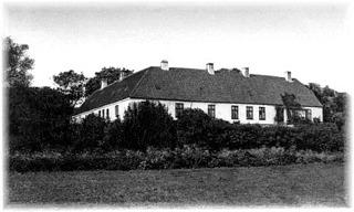 Snedinge Manor house in Slagelse, Denmark