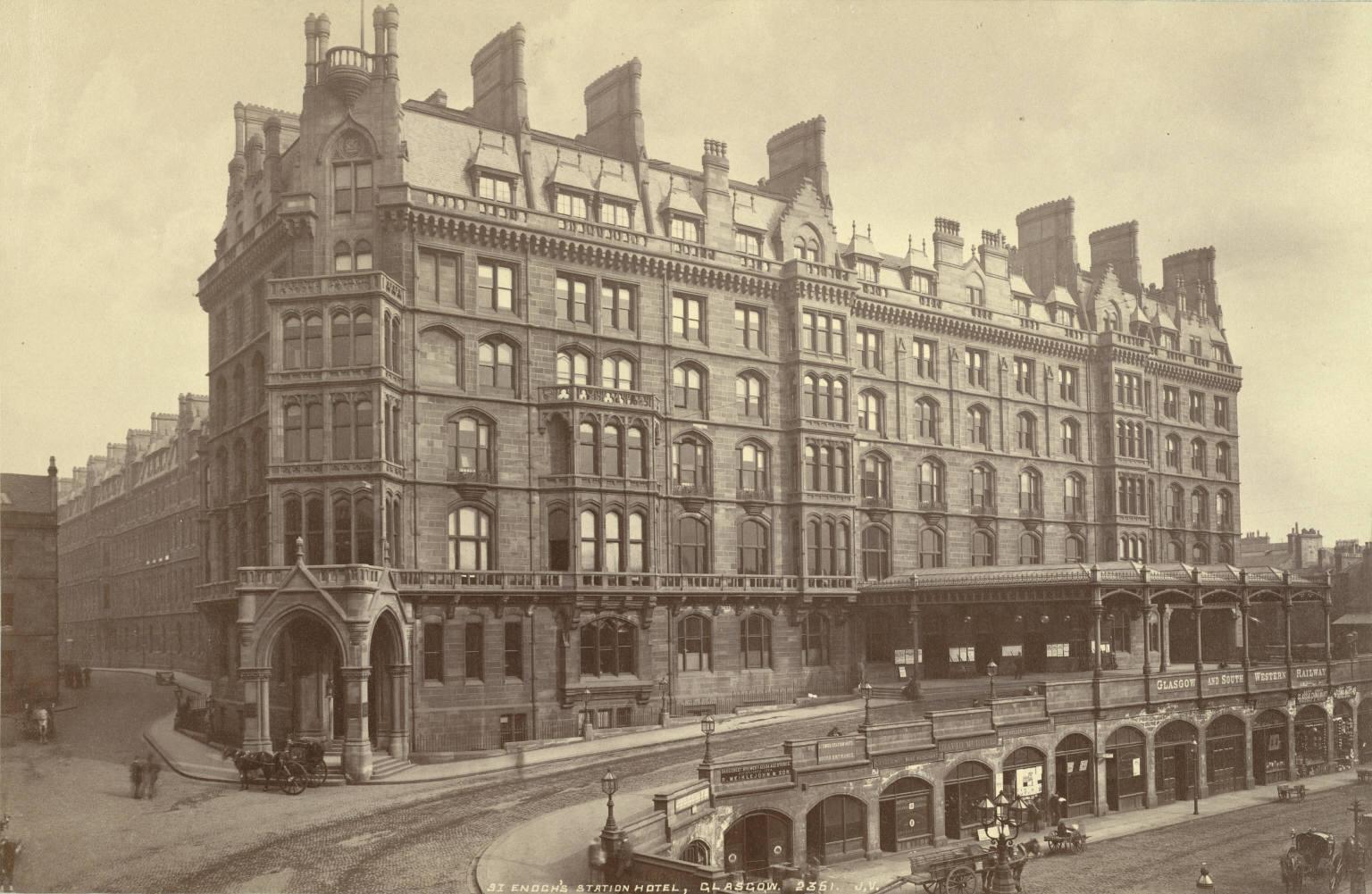 St Enoch Railway Station Wikipedia