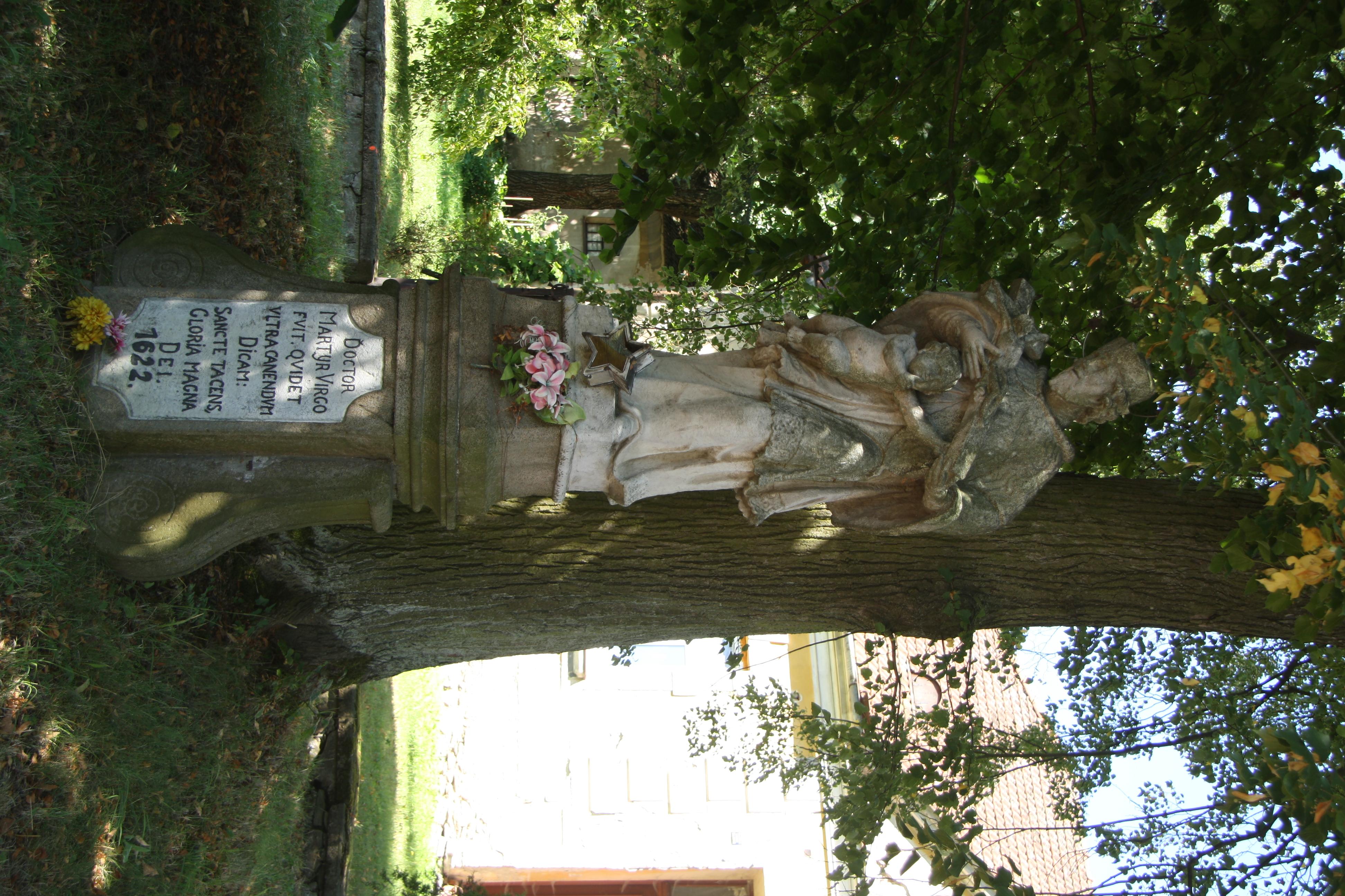 File:Statue of Saint John of Nepomuk in Černá, Žďár nad ...