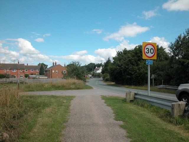 Stoak Village - geograph.org.uk - 34719
