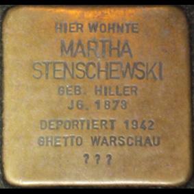 File:Stolperstein-Martha-Stenschewski.jpg