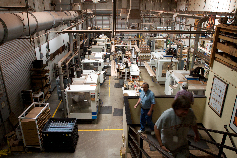 Guitar Factory Machines