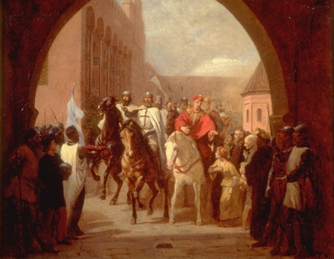 Teutonic Knights History File Teutonic Knight Entering