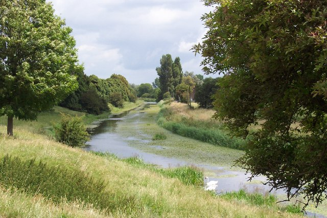 The Royal Military Canal, Romney Marsh, Kent - geograph.org.uk - 41644