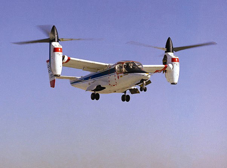 Tiltrotor research aircraft hovering - GPN-2002-000192.jpg