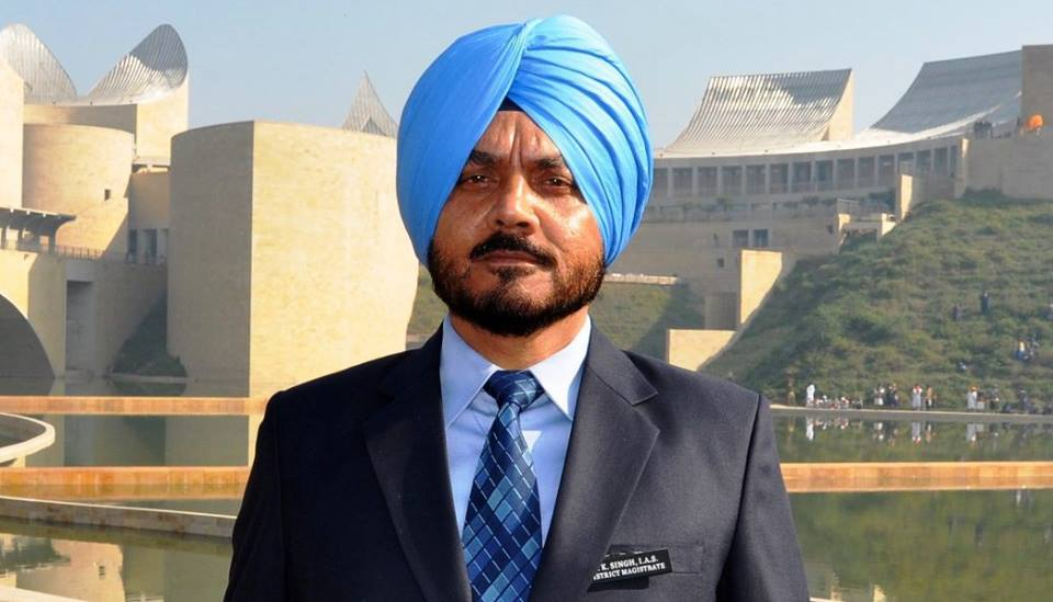 G k singh wikipedia for D s bains ias
