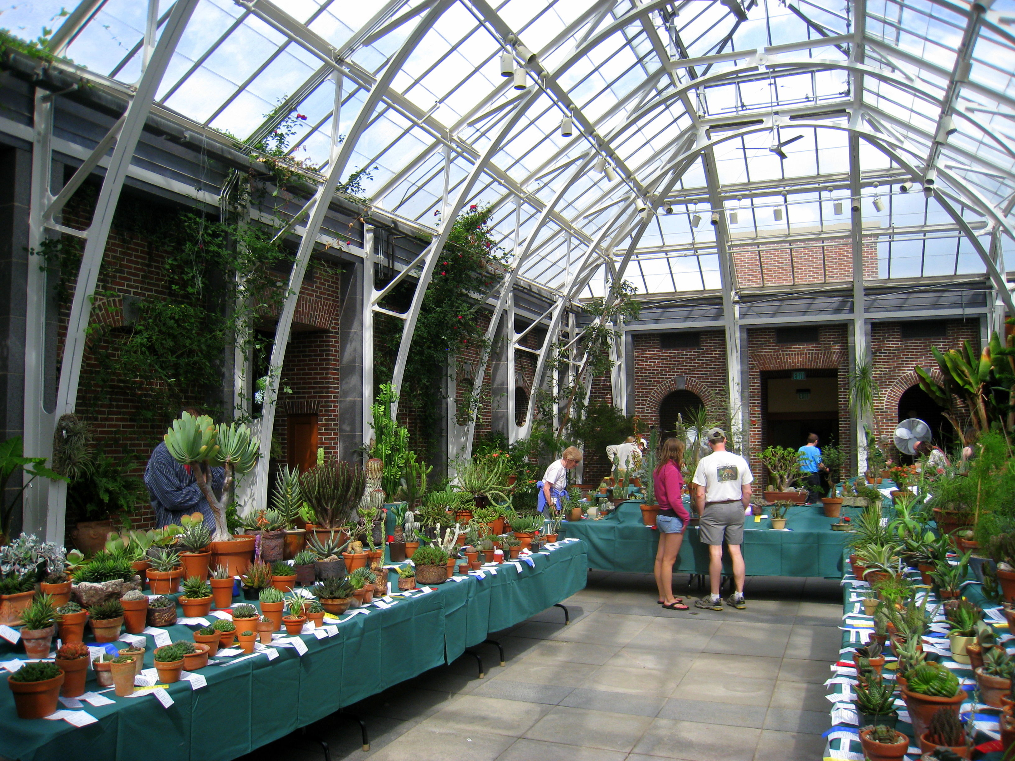 File:Tower Hill Botanic Garden   Orangerie (interior)