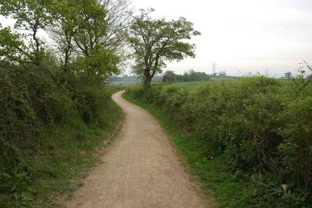 Track near Over Farm - geograph.org.uk - 435515