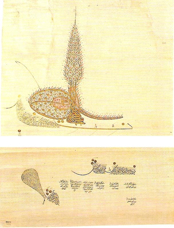 IV. Mehmet tuğra-ja - Forrás: Wikipédia