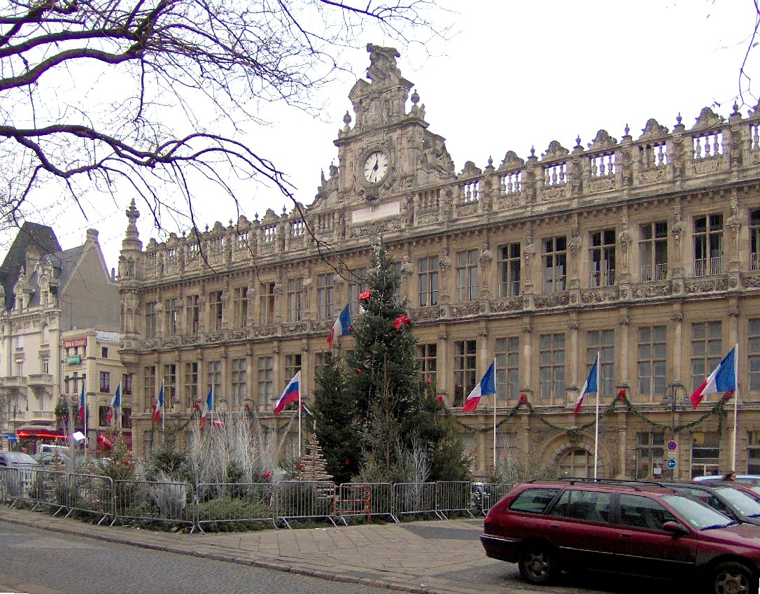 Valenciennes France  city images : Visiting Valenciennes, France and its remarkable City Hall: an ...