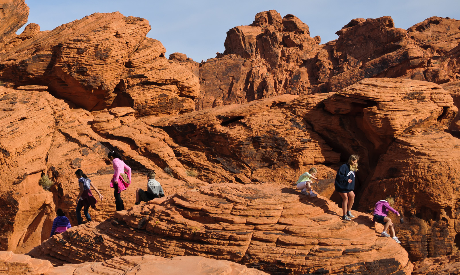 The Valley of Fire holds a whole day of activities. There's plenty of fun for children as well!
