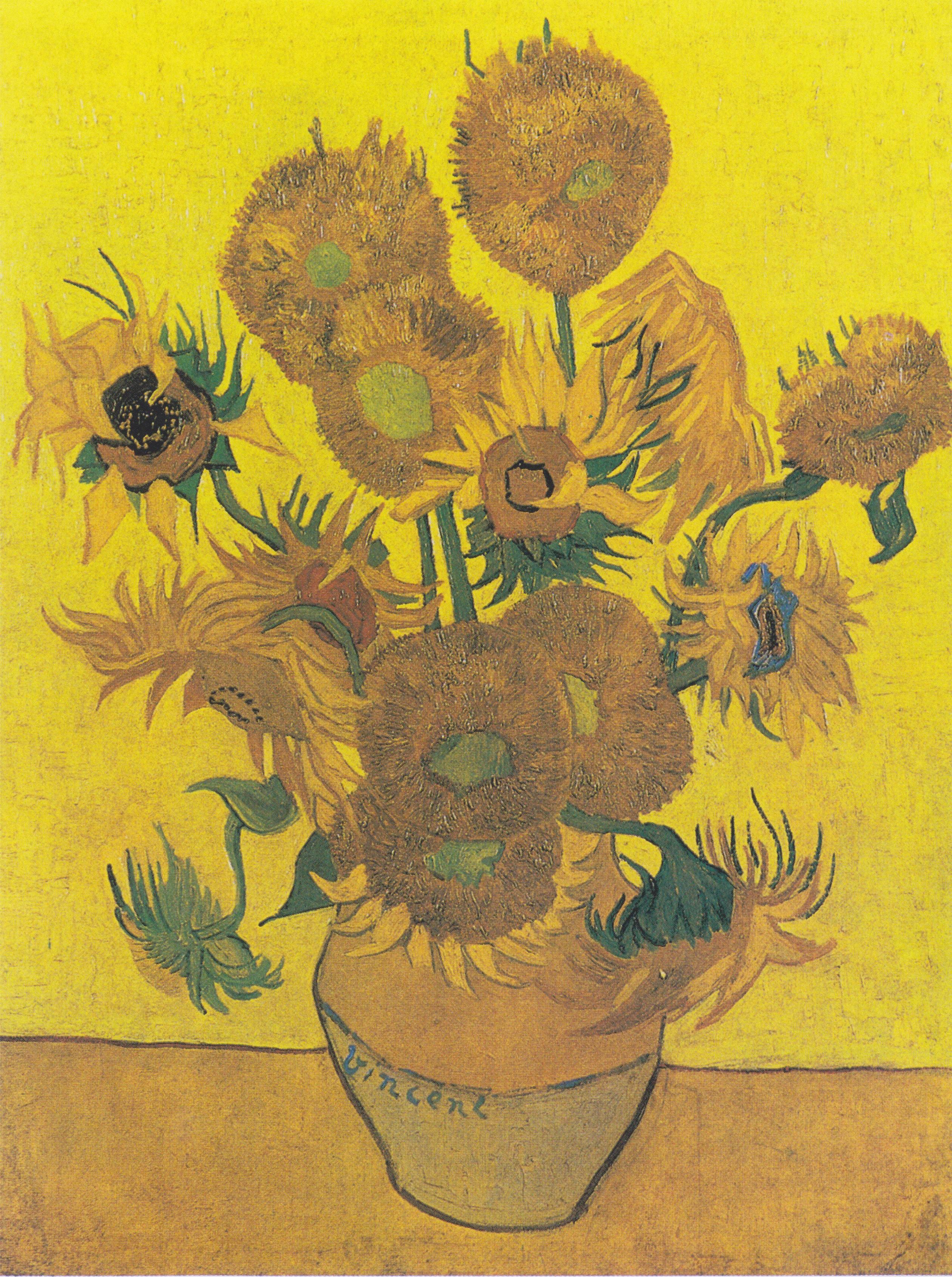 File:Van Gogh - Vierzehn Sonnenblumen in einer Vase2.jpeg - Wikipedia