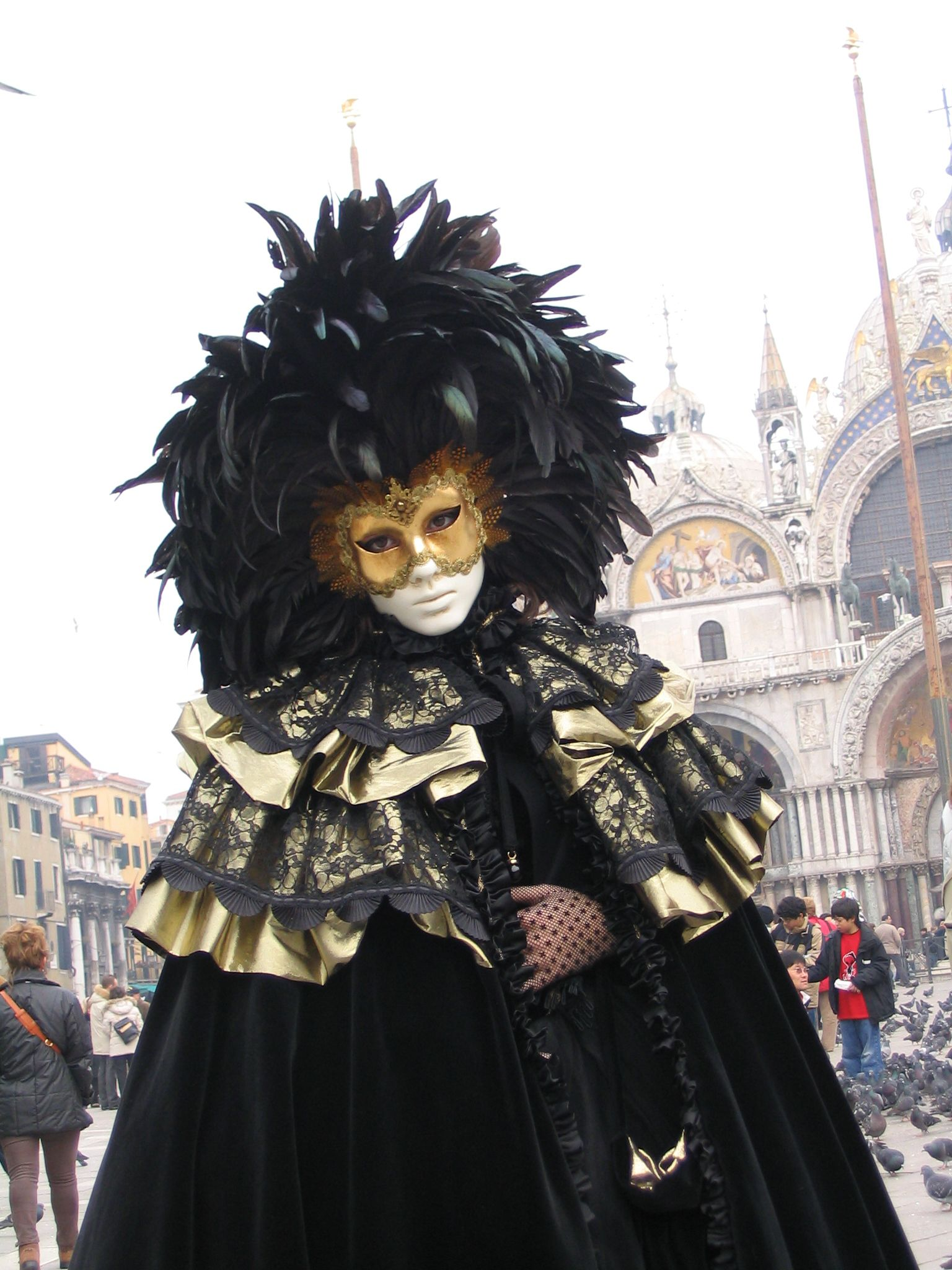 File venezia carnevale - Mascaras de carnaval de venecia ...