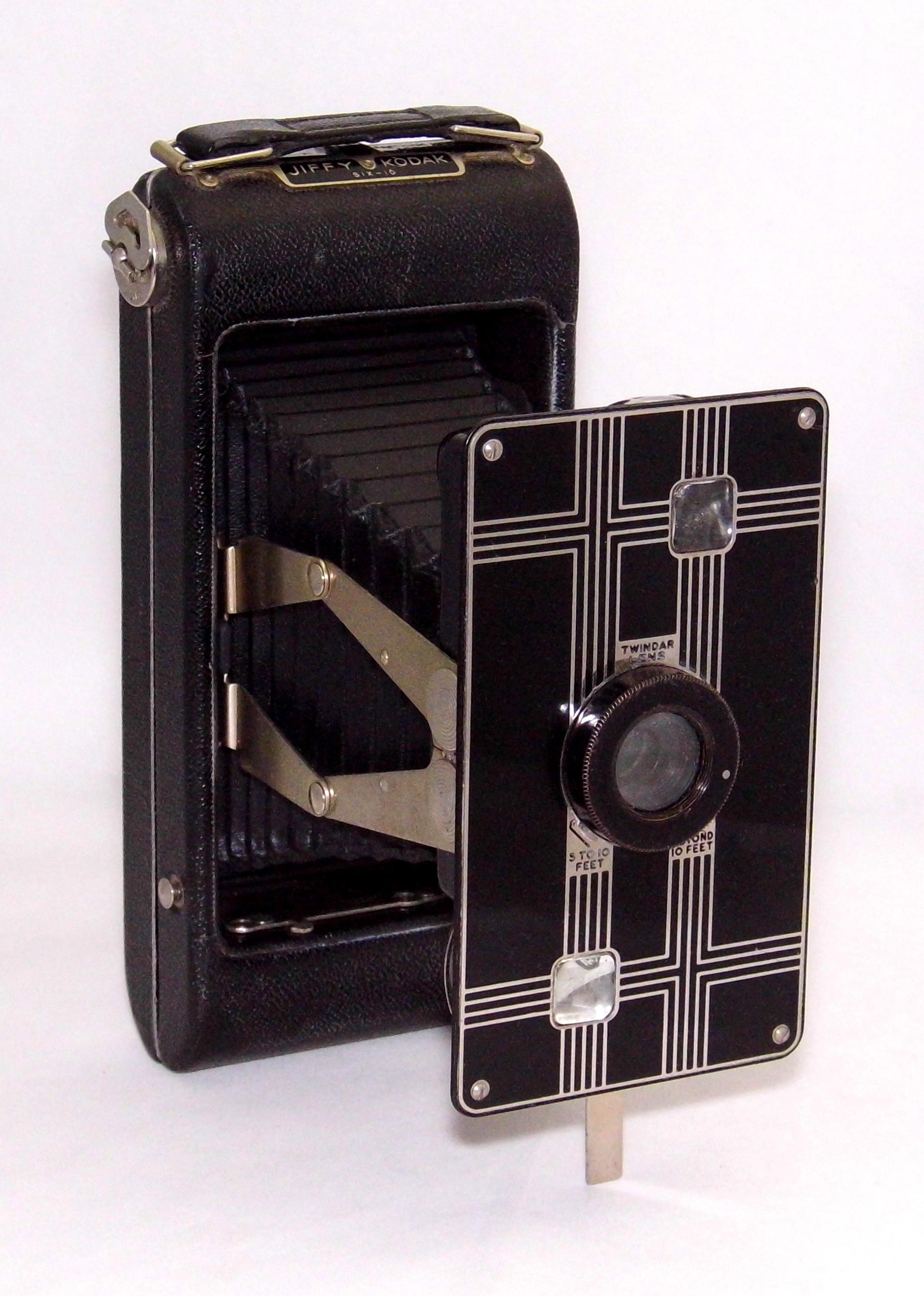 Filevintage Kodak Jiffy Six 16 Folding Film Camera 616 Film Made