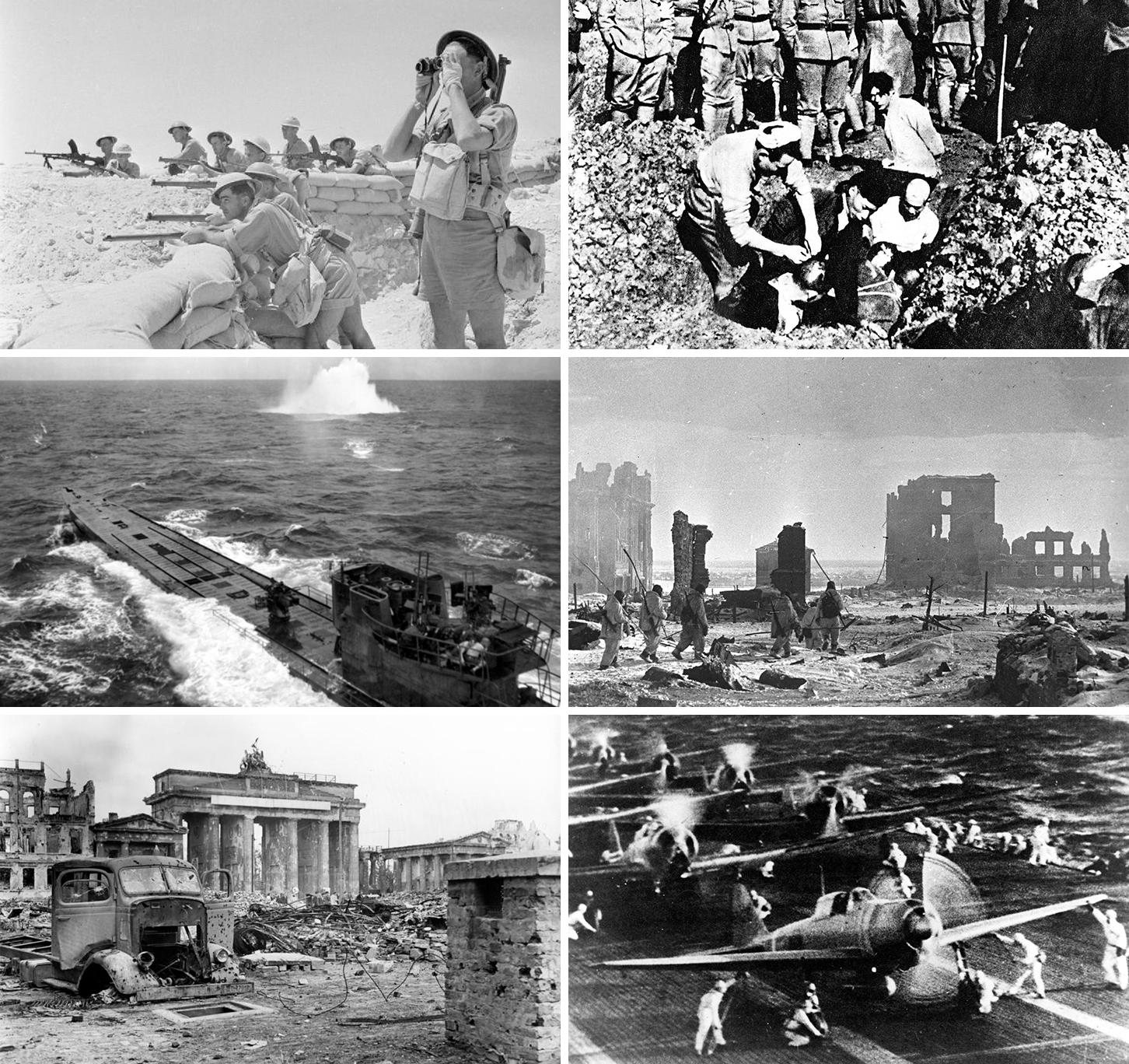 Depiction of Segunda Guerra Mundial