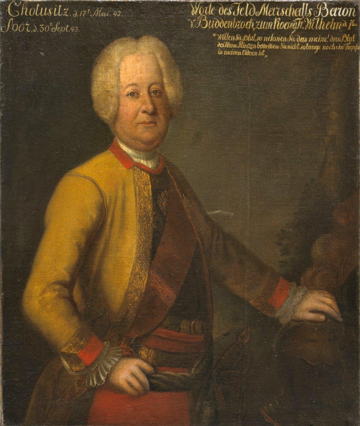 Wilhelm Dietrich Von Buddenbrock Wikiwand